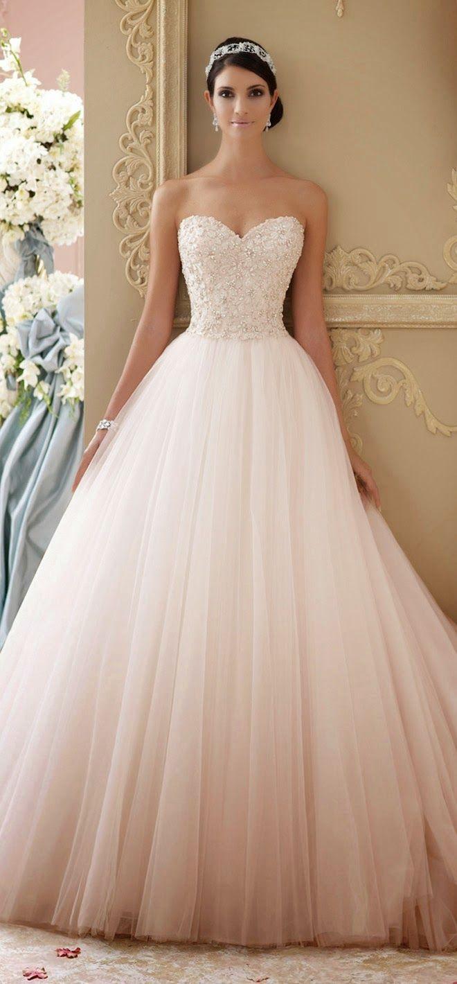 blush wedding dresses blush colored wedding dress Best Wedding Dresses of Blush Colored
