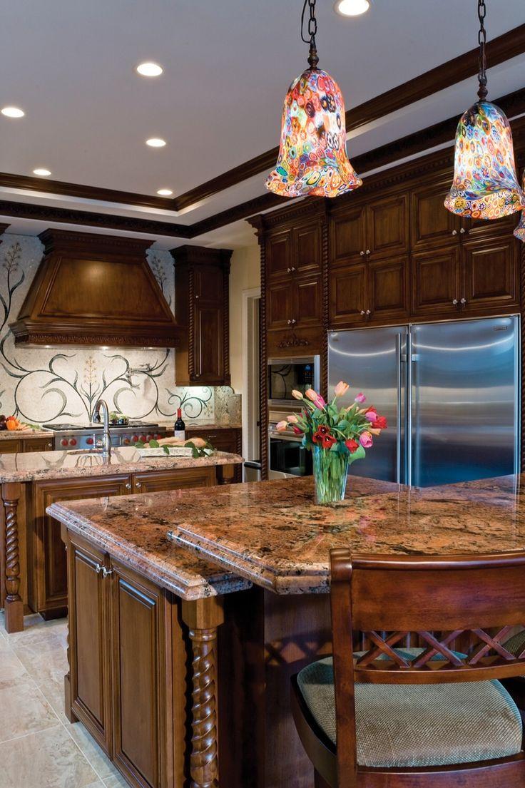 sub zero wolf living kitchen kitchen remodel las vegas Beautiful Las Vegas home with Sub Zero Wolf kitchen by Quinn Boesenecker Pinnacle