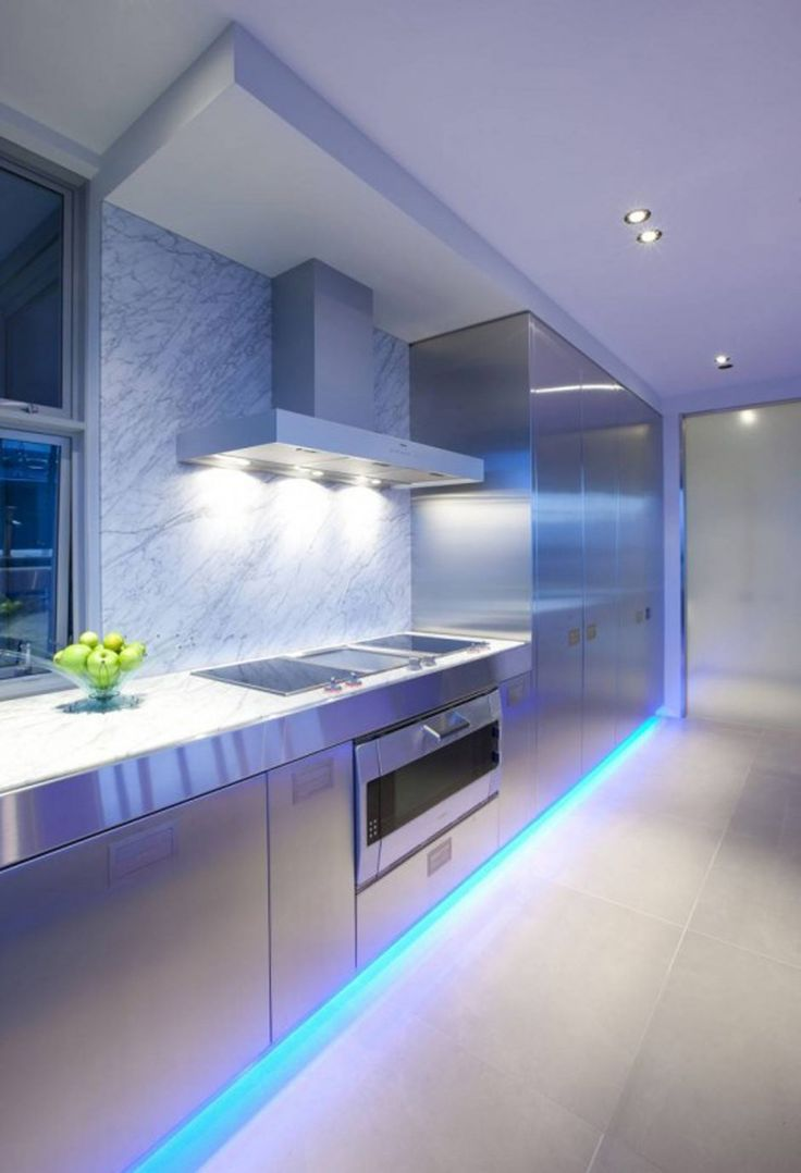 led kitchen lighting ideas kitchen lighting ideas A Contemporary Kitchen by Mal Corboy Auckland New Zealand based designer Mal Corboy has sent us some photos of a contemporary kitchen he has completed