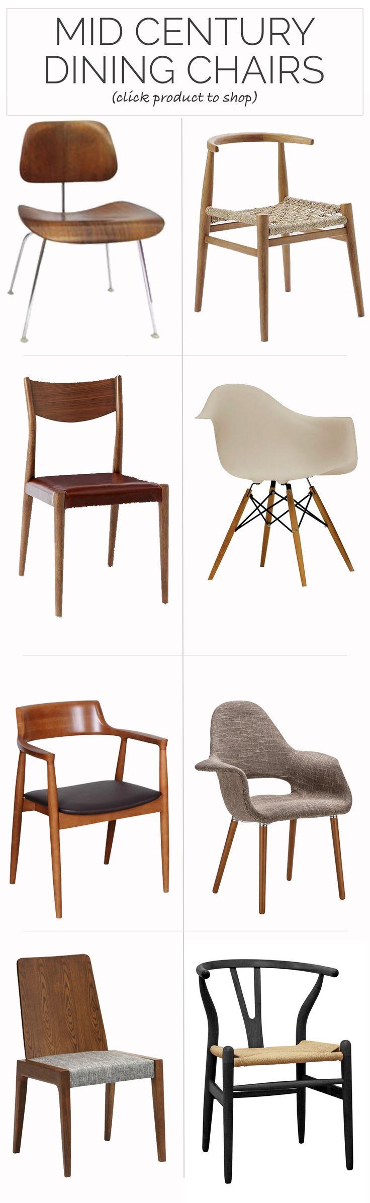 mid century dining mid century kitchen chairs The Best Mid Century Dining Chairs