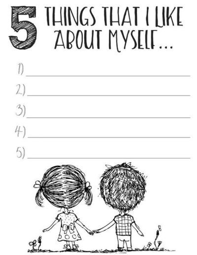 Free Printable Self Esteem Worksheets Download:   Naghmana Ahtesham   Pinterest   Worksheets and ...