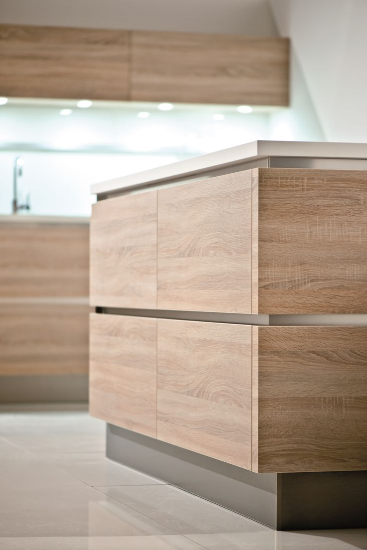 german kitchen german kitchen cabinets GL Natural oak rough cut finish The perfect ambience for stylish living Kitchen Cabinets