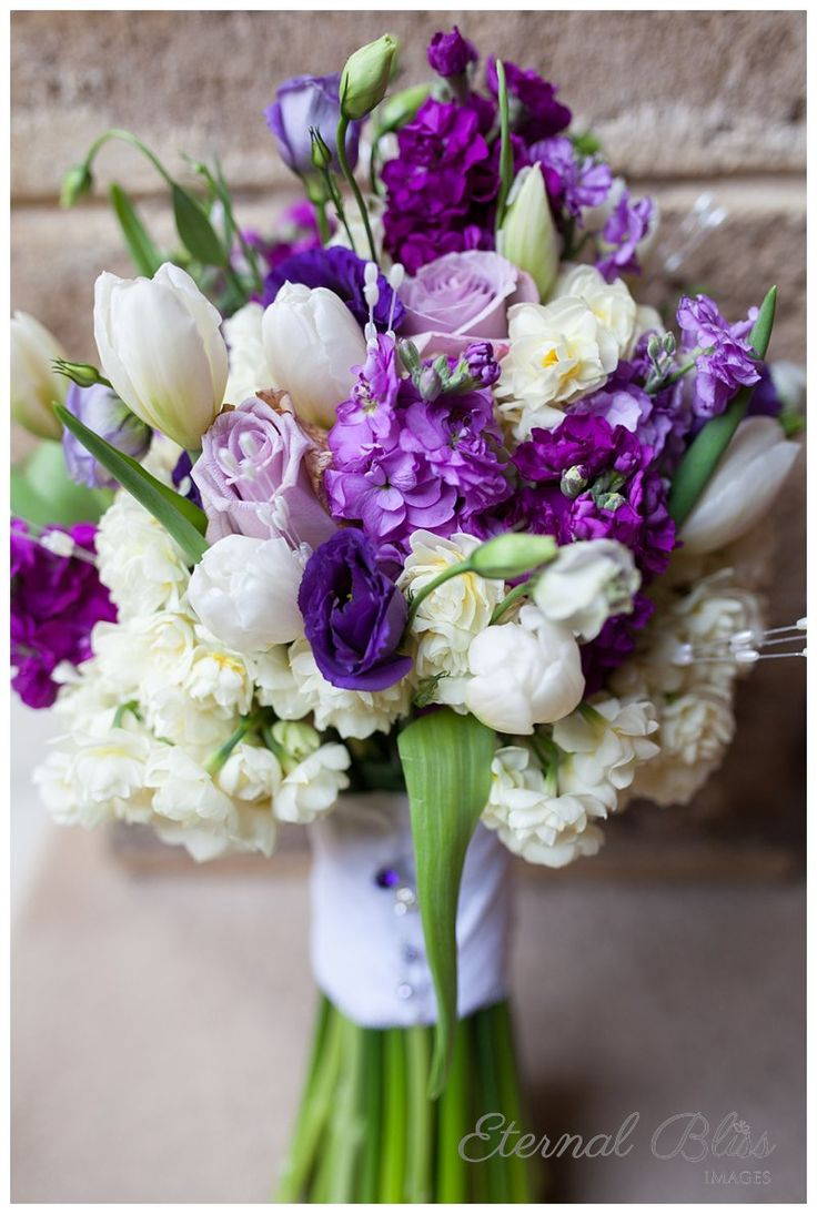 purple wedding bouquets flowers for weddings 25 Best Ideas about Purple Wedding Bouquets on Pinterest Purple wedding flowers Purple flower bouquet and Lavender wedding bouquets