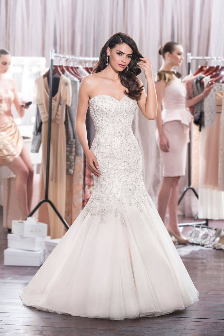 wedding dresses name brand wedding dresses Brand Diamond Collection Style Zsa Zsa Style Code Fabrics Tulle Embroidery Beading Colors available White White Silver Ivory Ivory Silver