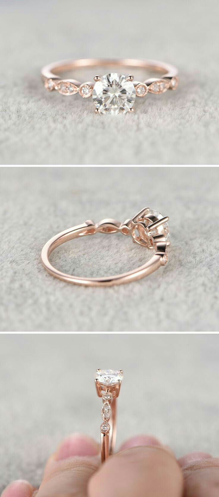 dainty engagement rings dainty wedding bands Miabella 1 3 Carat T W Princess and Round Cut Diamond Sterling Silver Double Halo Bridal Set Small Wedding RingsDainty