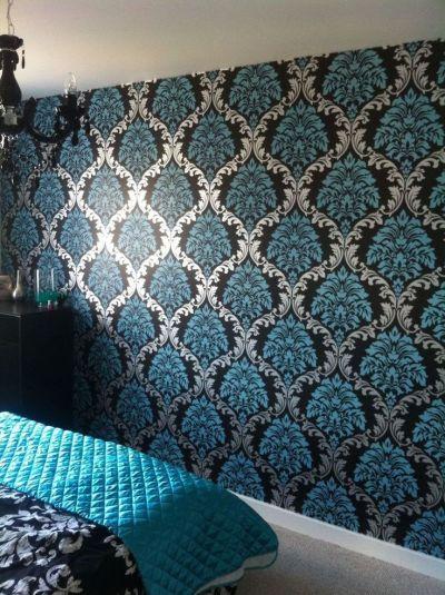 Best 25+ Wallpaper Feature Walls ideas on Pinterest   Feature walls, Live wallpapers and Wood ...