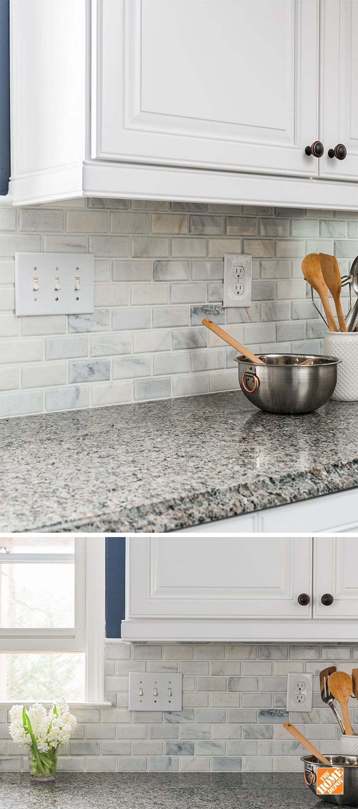 kitchen ideas inspiration kitchen remodel home depot Let The Home Depot install your kitchen backsplash for you It s quick easy