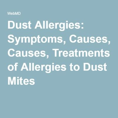25+ best ideas about Dust allergy symptoms on Pinterest | Dust allergy, Dust mite allergy and ...