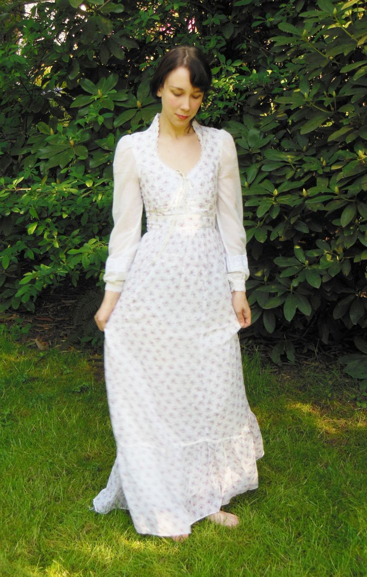 jessica mcclintock dresses jessica mcclintock wedding dresses Gunne Sax Vintage Jessica McClintock s by BettyandTedVintage