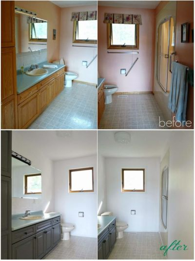 quick, easy, (cheap) and impactful bathroom update! | Home ...