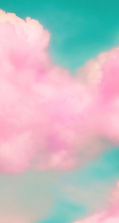 Pink cloud iphone wallpaper | iPHONE BACKGROUNDS | Pinterest | Beautiful, Pink clouds and ...