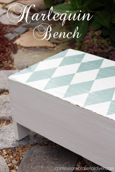 Best 25+ Harlequin pattern ideas on Pinterest | The harlequin, Annie chalk paint and Whimsical ...