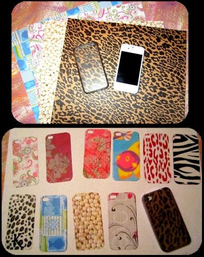 iPhone backgrounds. Clear phone case and cut out craft paper. | My Own Pins | Pinterest | Crafts ...