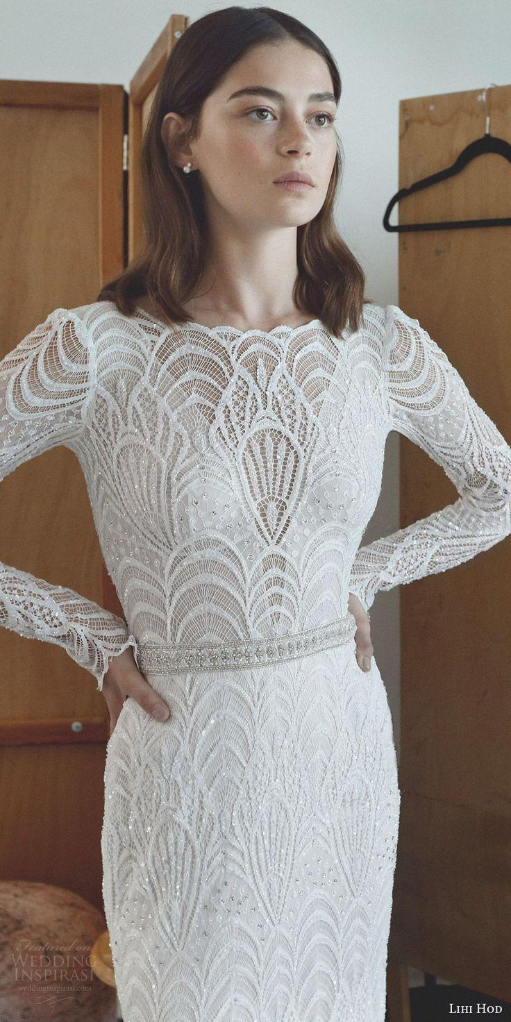 elegant wedding dress elegant dresses for wedding Lihi Hod Wedding Dresses Maison des R ves Bridal Collection
