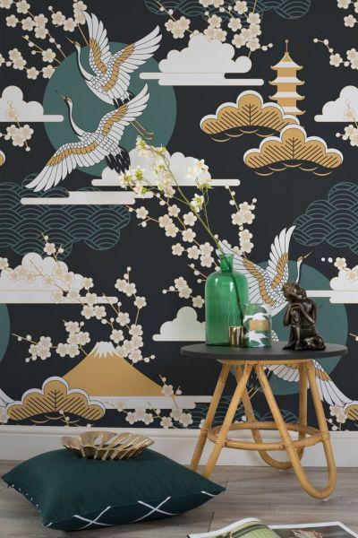 25+ best ideas about Oriental wallpaper on Pinterest ...