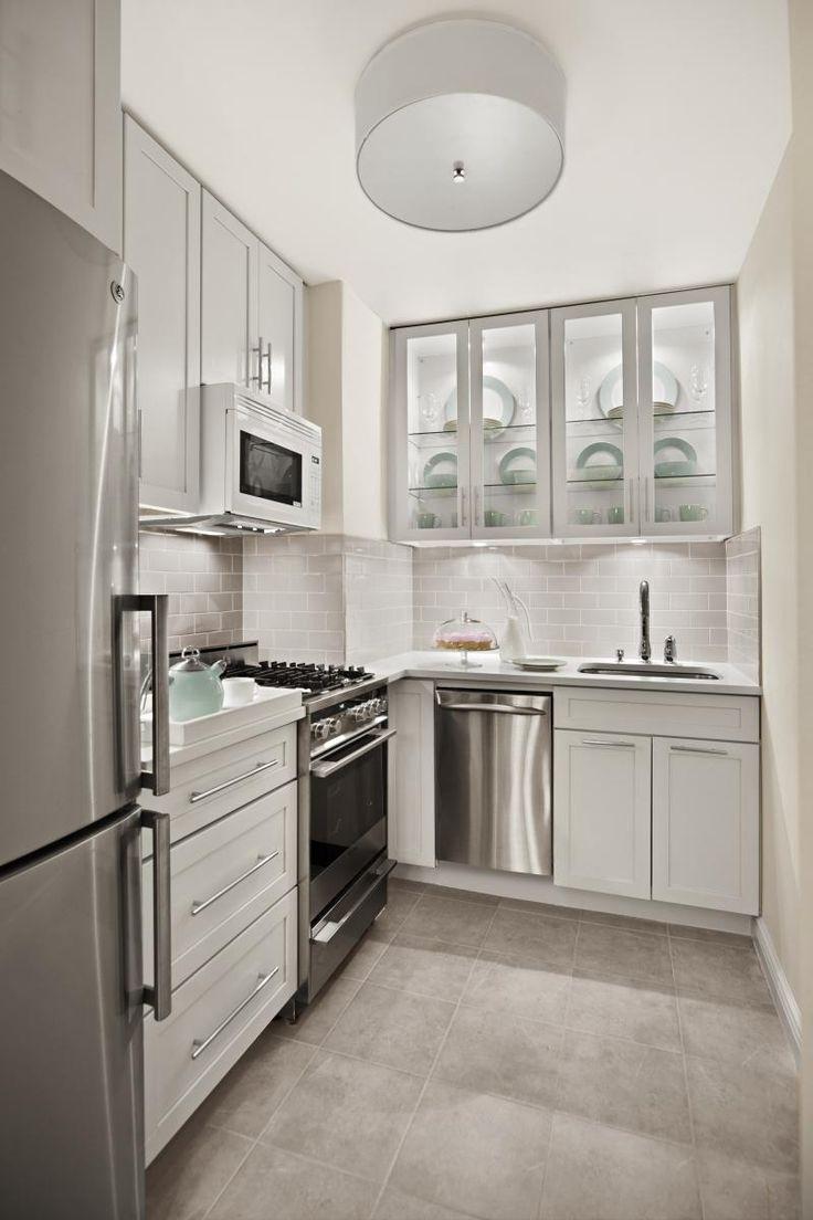 kraftmaid cabinets kitchen cabinets cincinnati Before After Elegant Gramercy Park Studio Kitchen