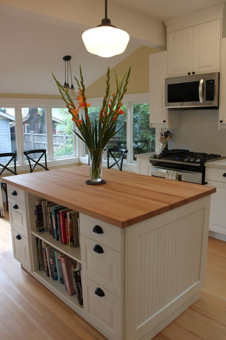 portable kitchen island portable kitchen islands kitchen island with bookcase IKEA inspired