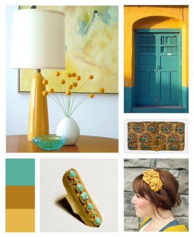 15 Best images about In love with Teal & Mustard!! on Pinterest | Mustard, Fireflies and Turquoise