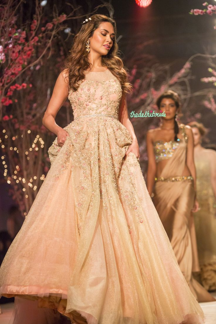 dresses indian ceremony and reception reception wedding dress Image result for indian bridal fusion dress