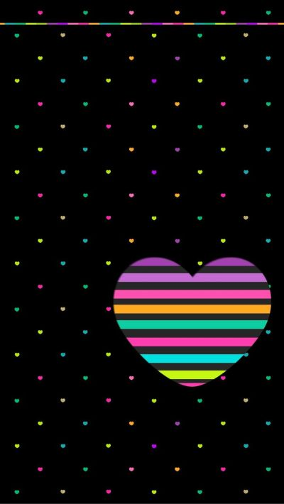 17 Best images about Colorful Heart{s} on Pinterest | Heart background, Screensaver and Icon pack