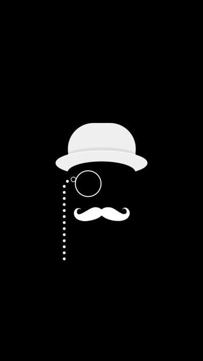 Like A Sir Black iPhone 5 Wallpaper #iPhone #wallpaper ----- Poirot??? :)   Cellphone Wallpaper ...