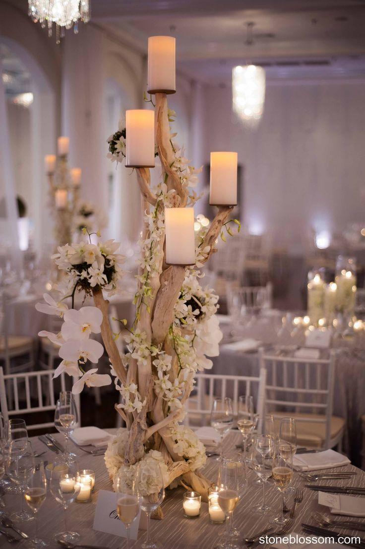 unique centerpieces wedding centerpieces ideas Remarkable Wedding Reception Ideas from Stoneblossom
