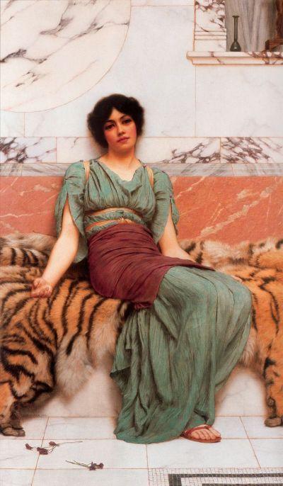 113 best images about John William Godward (1861-1922) on Pinterest