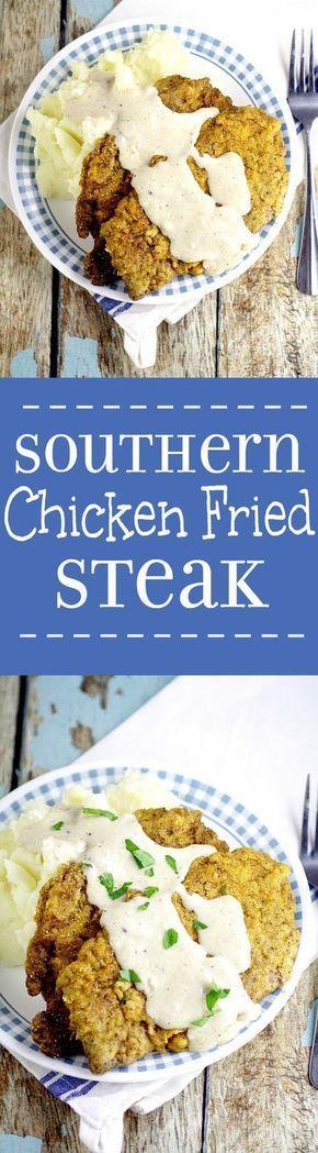 25+ best ideas about Chicken Fried Steak on Pinterest | Fried steak, Chicken fried steak gravy ...