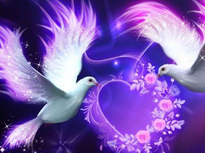romance birds | Love Birds - cynthia-selahblue (cynti19) Wallpaper (33274612) - Fanpop | Romance ...