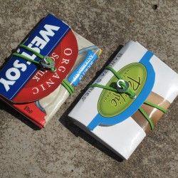 Upcycled Tetra-Pak Wallets & Notebooks | Reciclaje/Recycle | Pinterest | Tetra pak