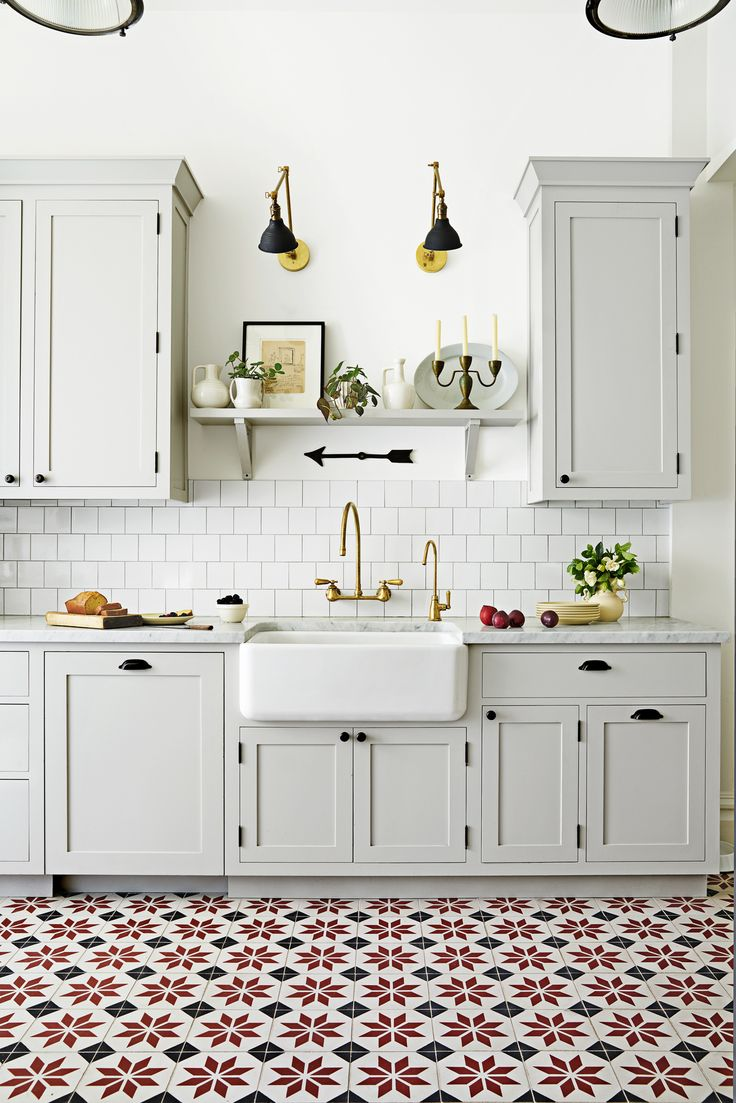 trends for floor tiles for kitchen 8 Gorgeous Kitchen Trends That Are Going to Be Huge in Ceramic Tile