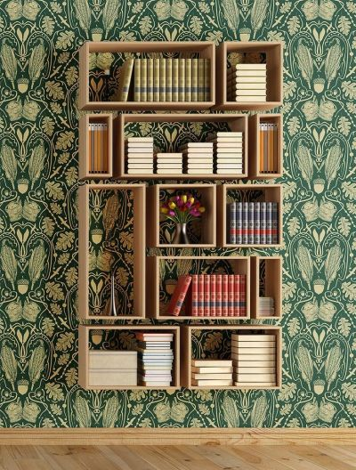 25+ best ideas about Bookshelves on Pinterest | Painted bookshelves, Bookshelves ikea and Living ...