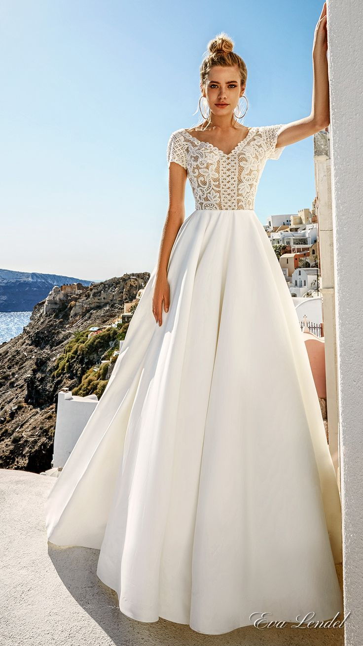 greek wedding dresses grecian wedding dress Eva Lendel Wedding Dresses Santorini Bridal Campaign