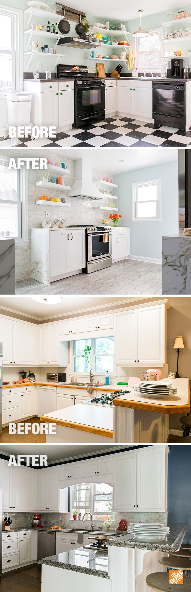 kitchen ideas inspiration home depot kitchen remodeling Get inspiration with The Home Depot s thoughtful Kitchen designs From renovation ideas to a Kitchen remodel find the best ideas in one place