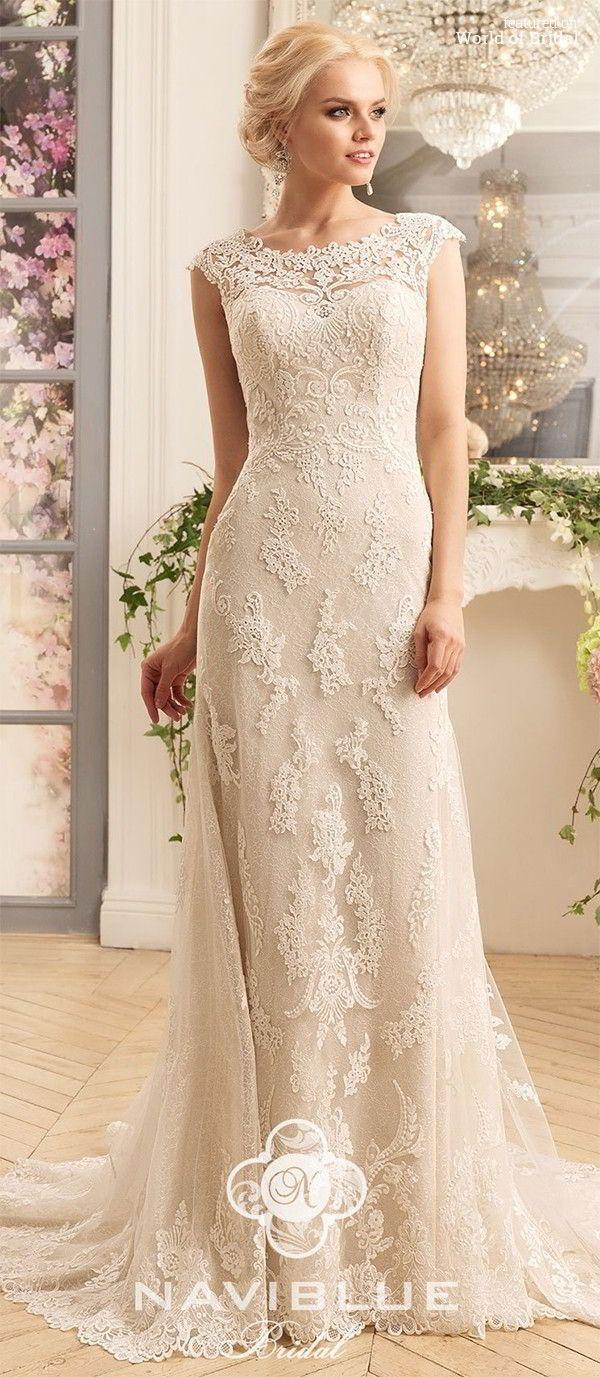 ivory cream wedding inspiration ivory wedding dress Naviblue Wedding Dresses