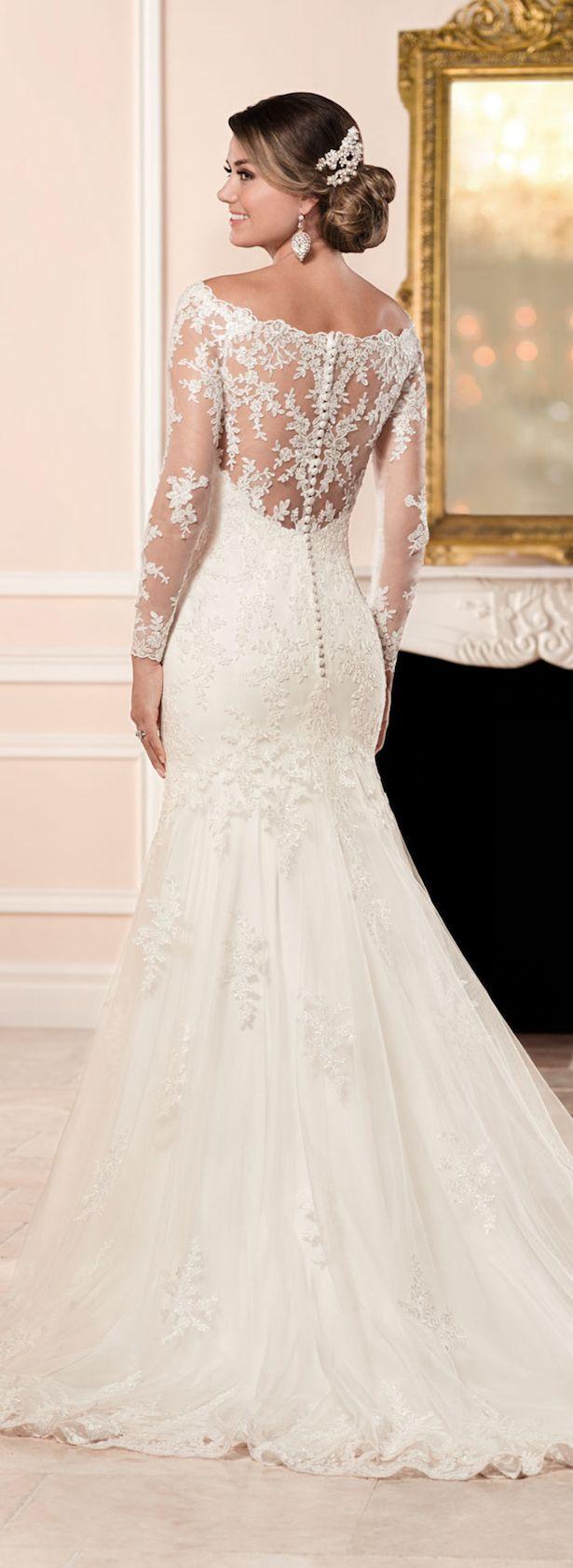 belle wedding dresses dress for a wedding Stella York Fall Bridal Collection Long Sleeved Wedding DressesLong