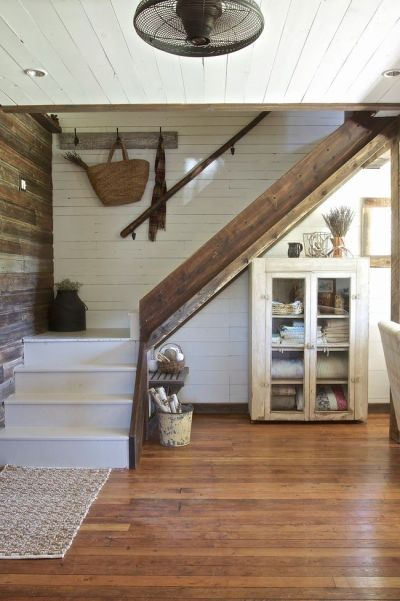 25+ Best Ideas about Farmhouse Stairs on Pinterest   Spindles for stairs, Attic and Bohemian ...
