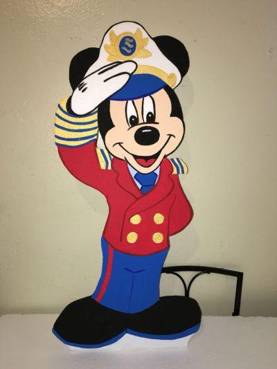 Mickey Mouse sailor captain nautical character … | Pinteres…