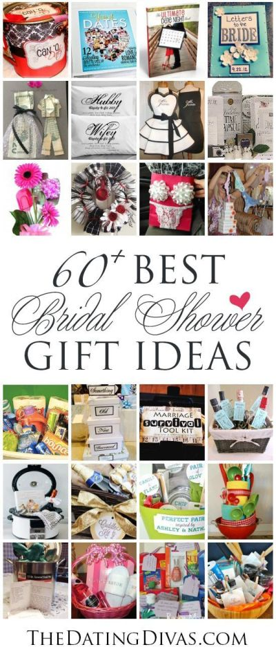 60+ BEST, Creative Bridal Shower Gift Ideas | Creative, Shower gifts and I love