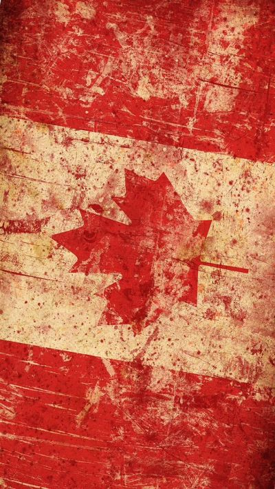 Distressed Canada flag - repinned by @mobile9 | iPhone 6 & iPhone 6 Plus Wallpapers, Cases ...