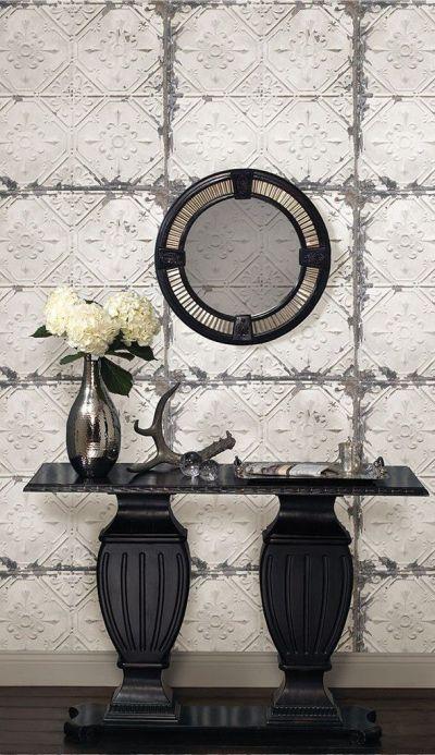 Best 20+ Tin Tiles ideas on Pinterest   Faux tin ceiling tiles, Cheap wall tiles and ...
