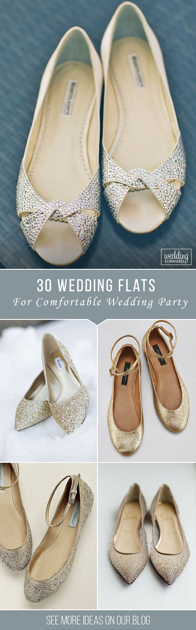 wedding shoes comfortable wedding shoes 30 Wedding Flats For Comfortable Wedding Party