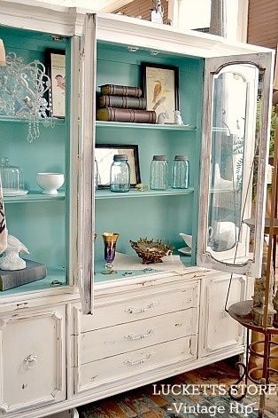 25+ best ideas about China cabinet painted on Pinterest | China cabinet redo, China hutch redo ...