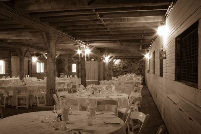 Lower level reception. Ellis barn, Davisburg Michigan ...