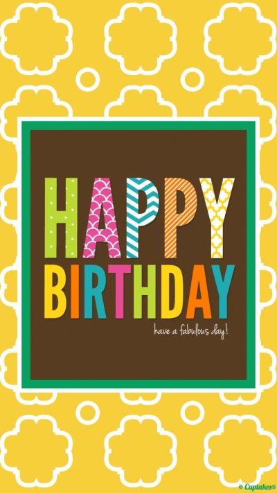 iPhone wallpaper, Happy Birthday! | IPHONE WALLPAPER | Pinterest | Birthdays, Happy and Happy ...