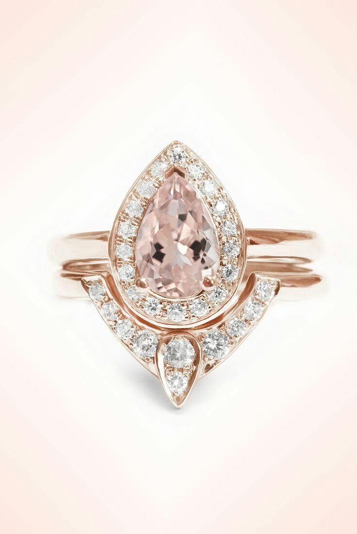 bridal ring sets gold wedding ring sets 25 Best Ideas about Bridal Ring Sets on Pinterest Bridal bands Silver wedding rings and Rose wedding rings