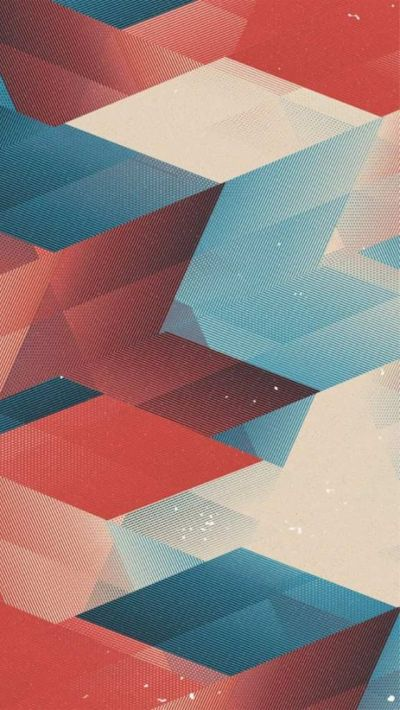 Red and Blue Abstract Arrows iPhone 5 Wallpaper | iPhone Wallpapers 4 | Pinterest | Flats ...