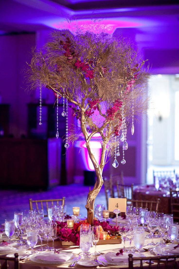 branch wedding centerpieces centerpieces for wedding Amaze Your Guests With 34 Tasteful Wedding Centerpieces