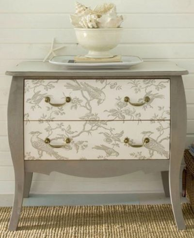 25+ Best Ideas about Wallpaper Furniture on Pinterest | Wallpaper dresser, Wallpaper drawers and ...