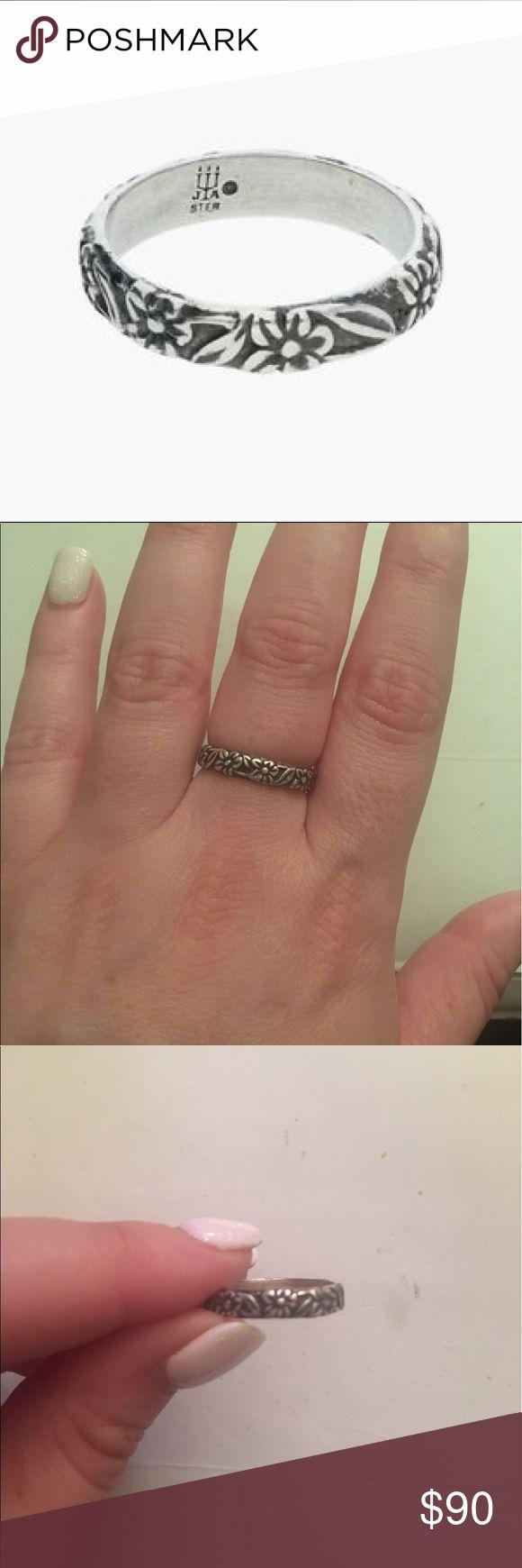 james avery rings james avery wedding bands James Avery retired flower ring Sz 6 5